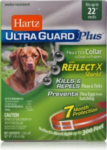Hartz UltraGuard Plus Flea & Tick Collar for Large Dogs